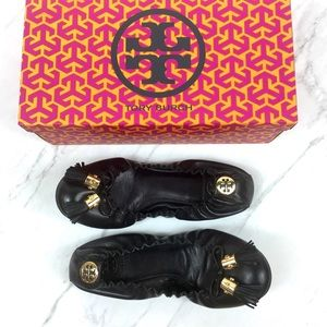 Tory Burch Reese Mestico Ballet Flat Shoes